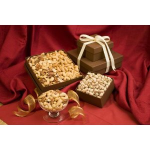 Nutty Gift Basket Says We Are Nuts About You!