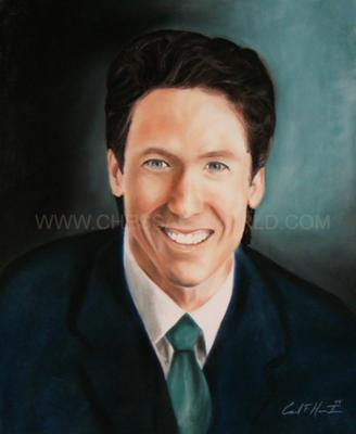 A Professionally Painted Portrait Given To Express Appreciation